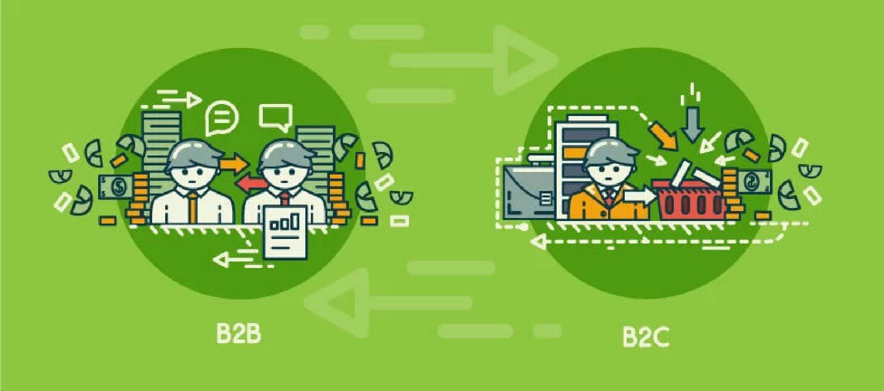 ۱۰ تفاوت میان بازاریابی B2B و B2C