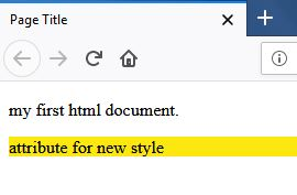 first html doc